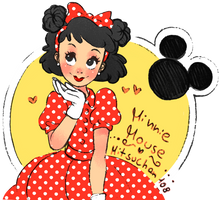 Minnie Mouse Humanization by MITSUCHAN108