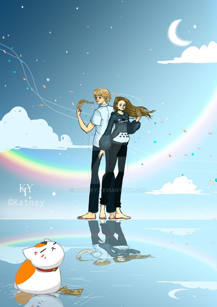 Fanart: natsume yuujinchou by Katney
