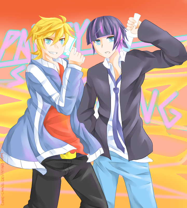 Panty and Stocking GENDERBENT by Cafe-Chaos