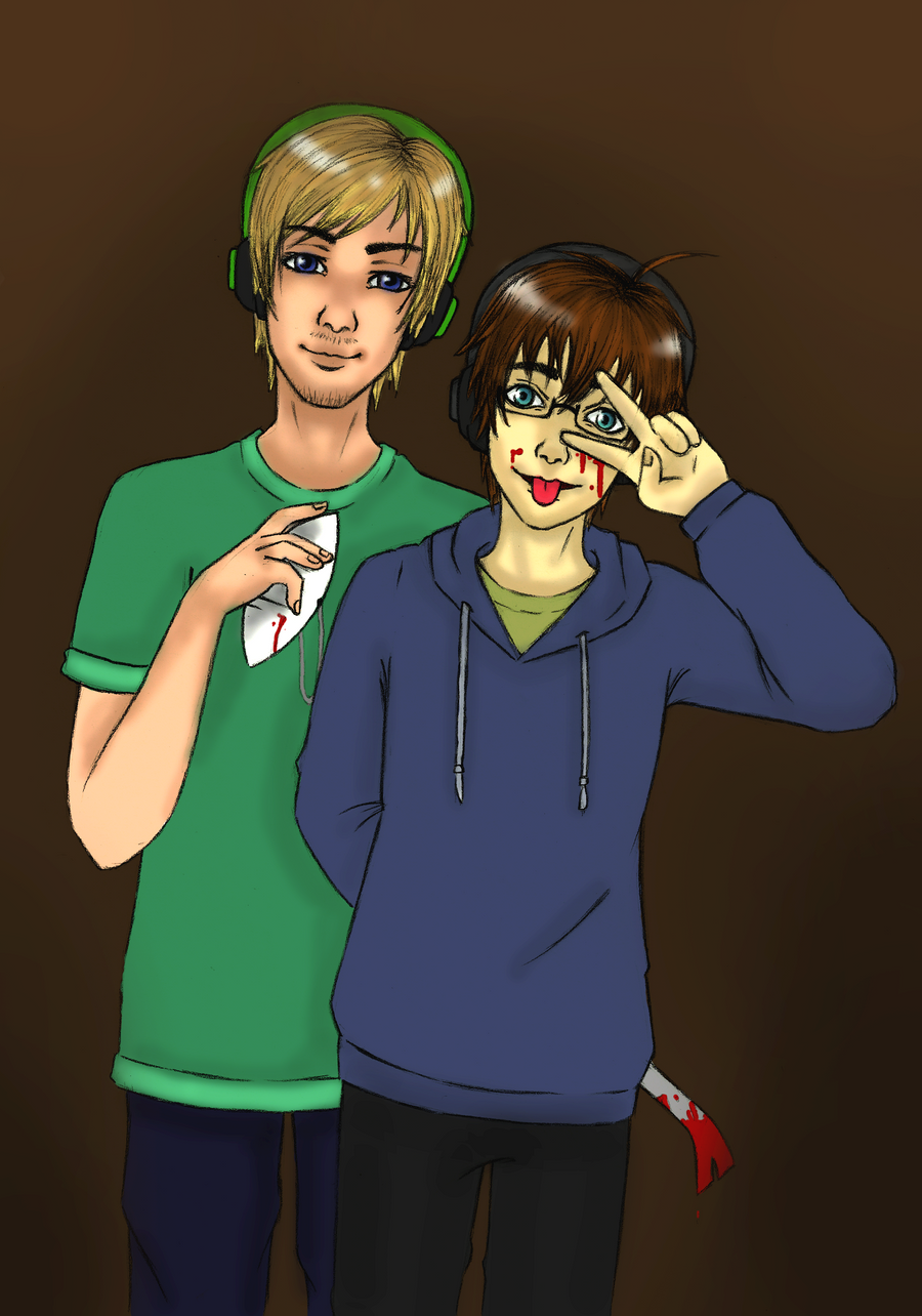 Pewdie and Cry: the face by Yuniegard