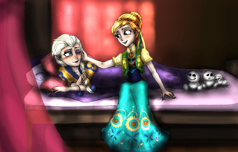 Frozen fever- Let me sing you to sleep by TigerPaw90
