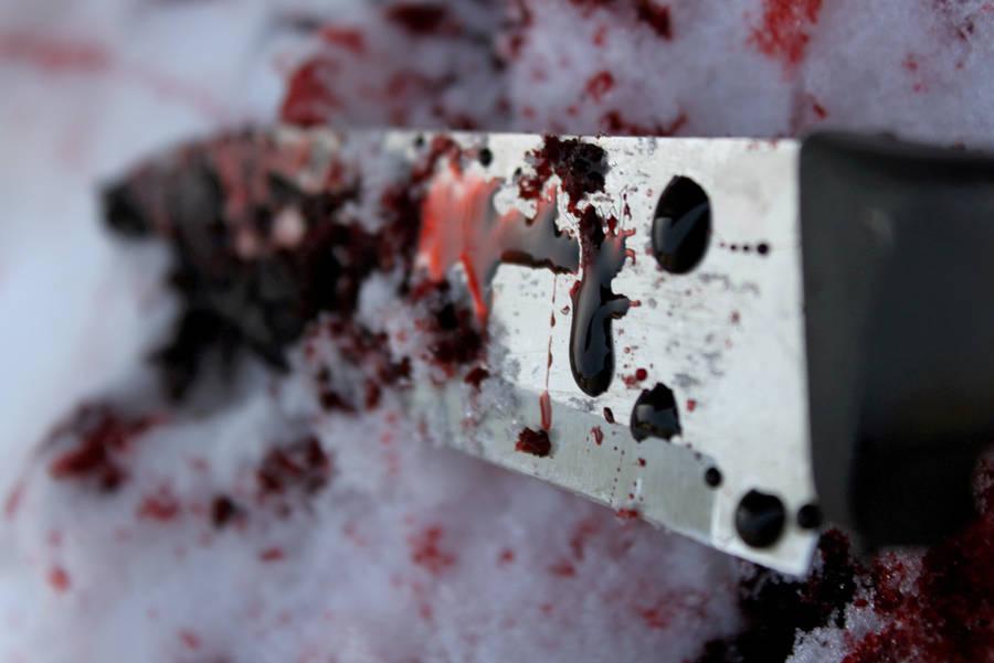 Bloody Knife by WhiteEyedFrog