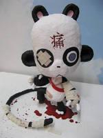 Pandaphobia, sculpture by Pandaphobia