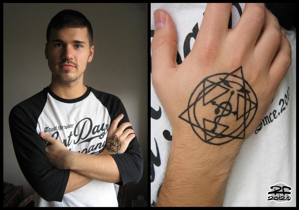FMA Tattoo by Pandaphobia