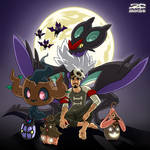 Happy Pokemon XY Halloween