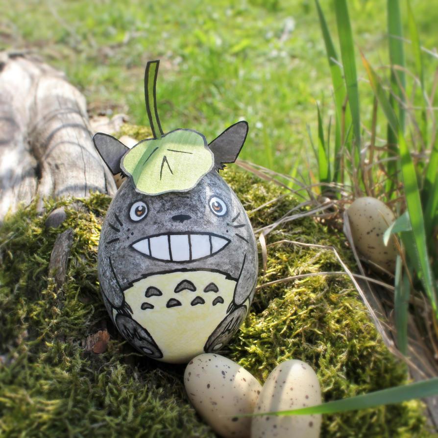 Totoro Egg by Pandaphobia