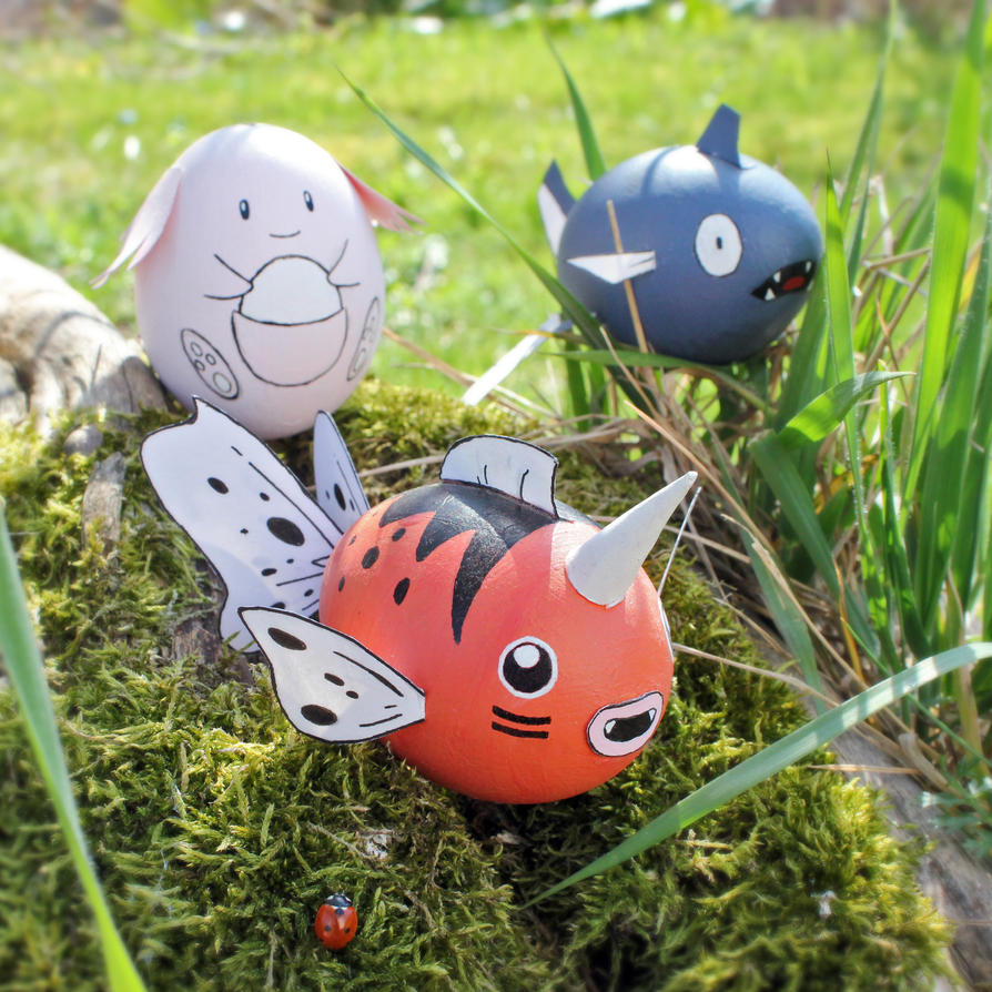 Pokemon Eggs by Pandaphobia
