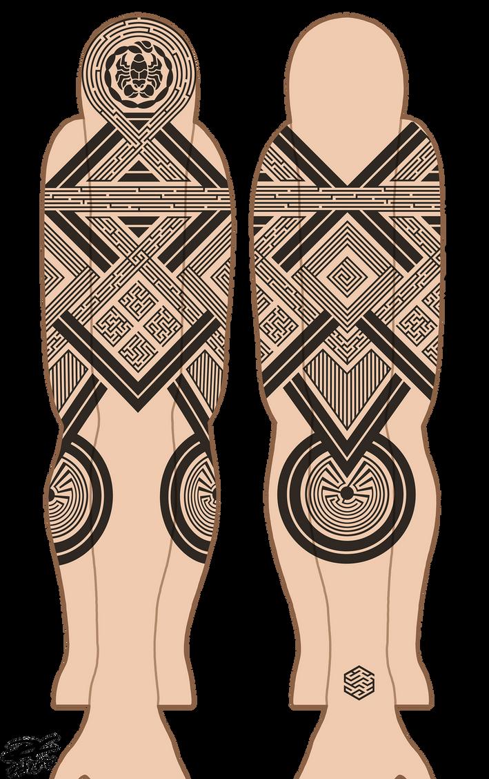 Scorpio Tattoo by Pandaphobia