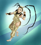 Ibuki the charming kunoichi. by Leo-Syron