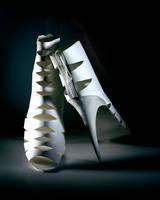 Paper Sculpture Fashion 3 by hazelB