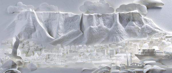 Table mountain capetown sa by hazelB
