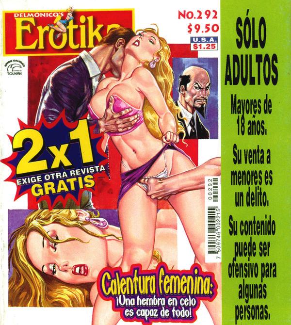 Delmonico's Erotika, No. 292 by historietasperversas