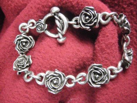Linked Roses Bracelet
