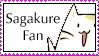 Sagakure Fan Stamp by 221bee
