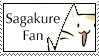 Sagakure Fan Stamp by 221bee
