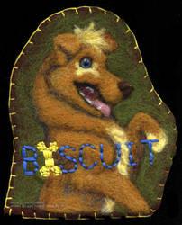 Biscuit's Badge by cricket00fur