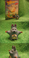 Sculpture: Totoro by cricket00fur