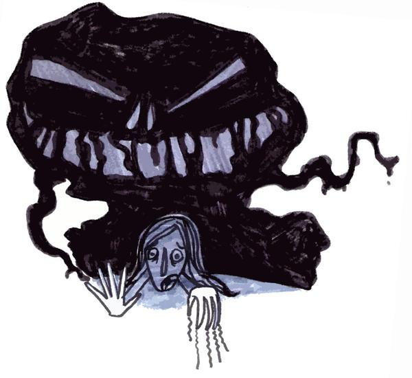Αποτέλεσμα εικόνας για depression μονστερ