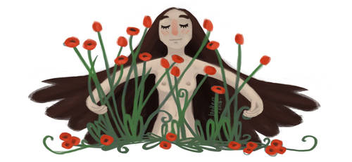 Re-draw those poppies