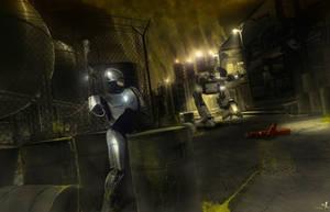 RoboCop vs ED-209 by 3DPORTFOLIO