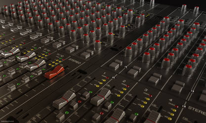 Mixing Desk by 3DPORTFOLIO