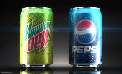 Pepsi-MtwDew by 3DPORTFOLIO