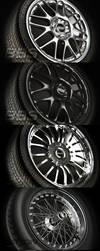 Wheels Rims Tires Vray by 3DPORTFOLIO