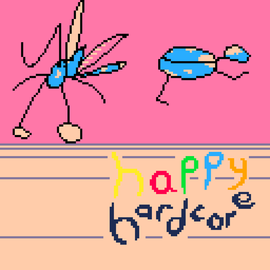 Happy Hardcore (Pico8) by Nodepond