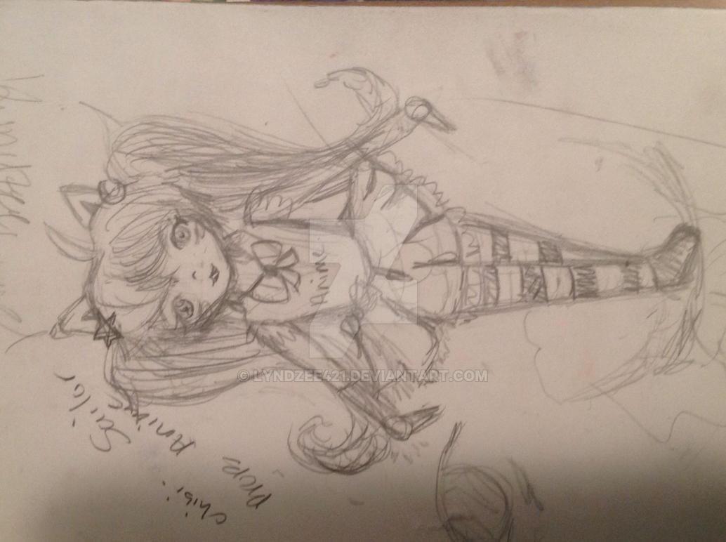 salior anime wip by lyndzee421