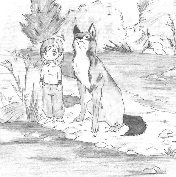 mowgli haha by marderhund