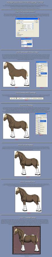 Basic Horse Colouring Tutorial