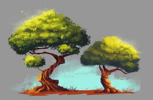 Stylized Tree Studies
