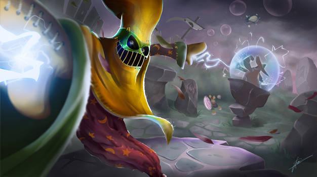 Hoodoo Sorcerer - Splash Art