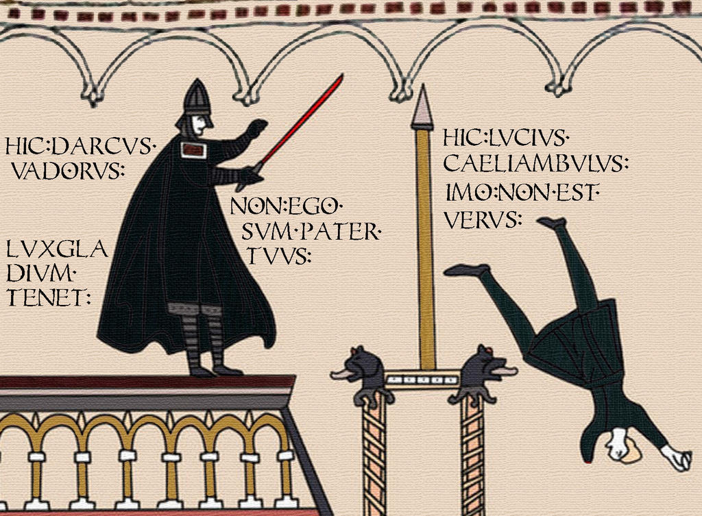 Nerdy Bayeux Tapestry by Jibasse