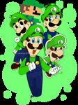 Happy 35th Anniversary, Luigi!
