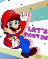 Lets Party by TemmieSkyie