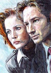 X-Files by Fandias