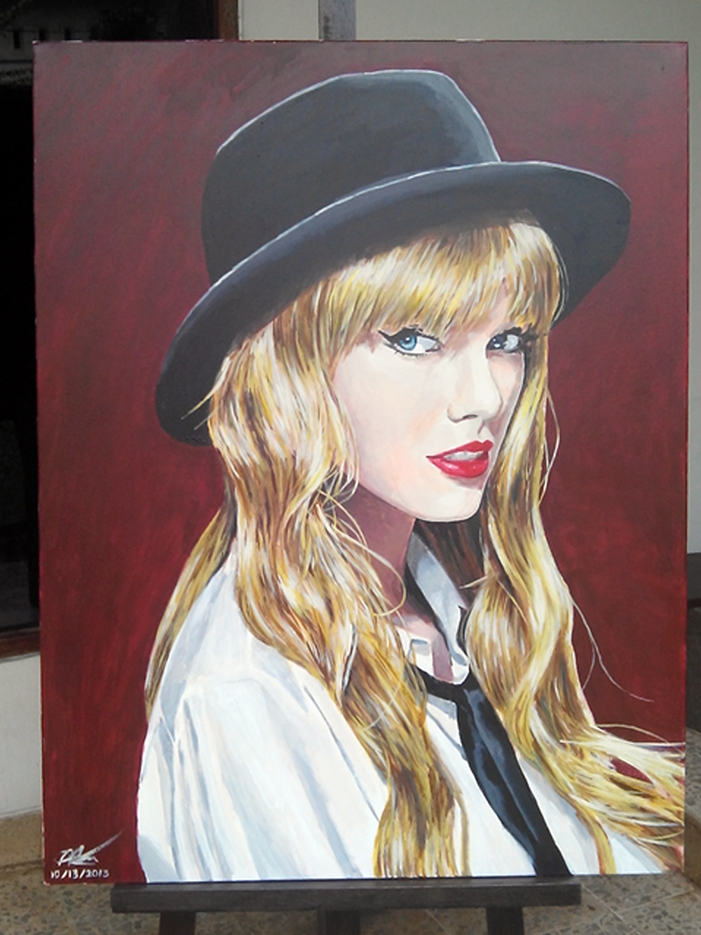 taylor swift painting by fandias on deviantart