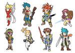 Game Heroes pack 11: Classic RPG