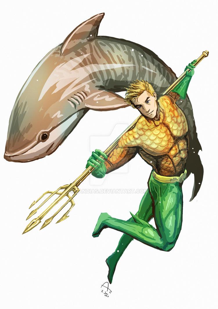 Aquaman. by Fandias