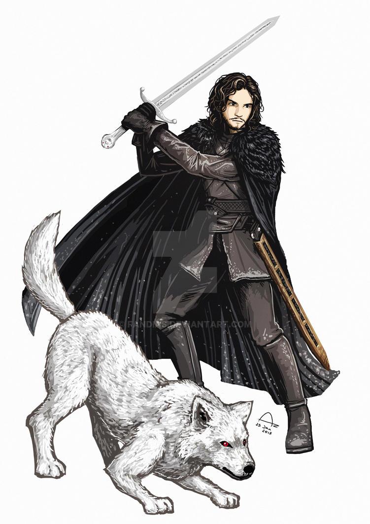 Jon Snow by Fandias