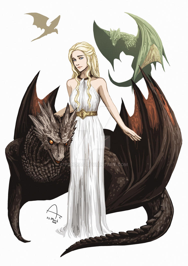 Daenerys Targaryen By Fandias On Deviantart