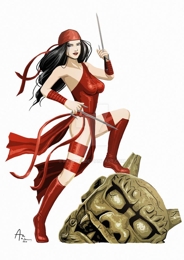 Elektra by Fandias