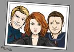 Avengers Selfie by Fandias