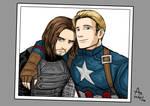Steve and Bucky