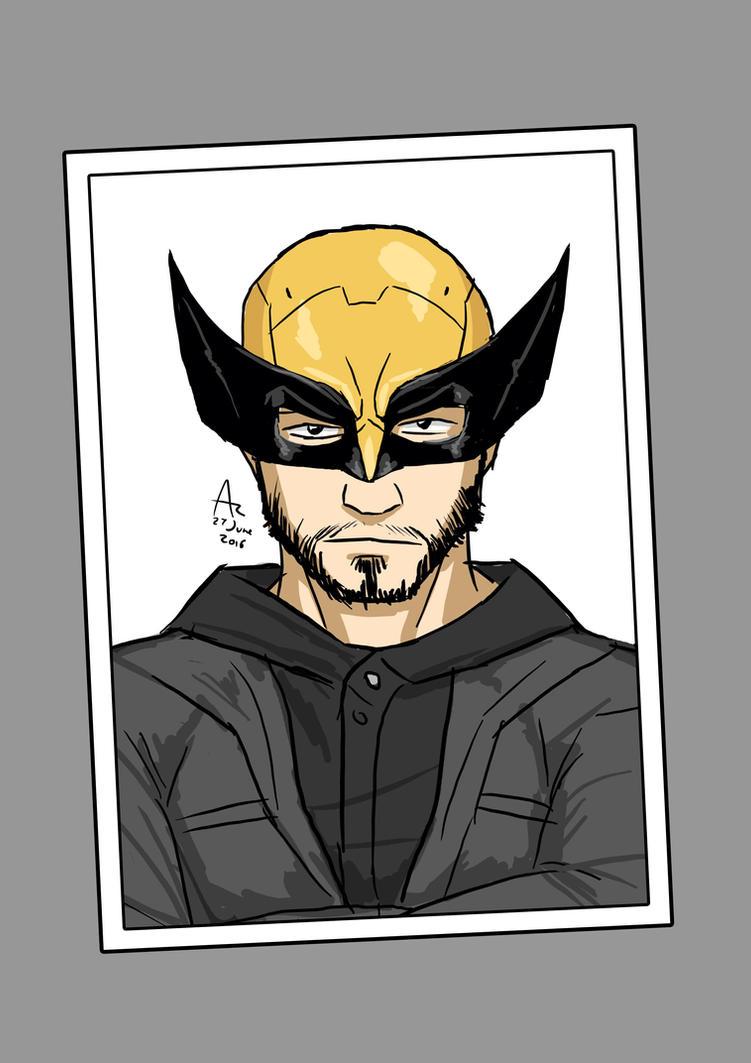 Wolverine's Mask by Fandias