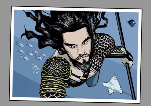 Aquaman Selfie