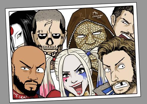 Suicide Squad Selfie