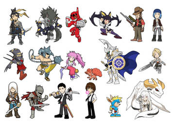 Game Heroes Characters 4