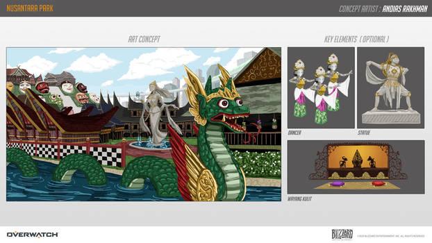 Nusantara Park (Overwatch contest map entry)